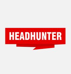 Headhunter vector