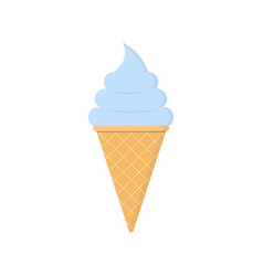 Ice cream icon simple design flat style vector