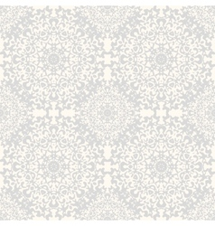 Seamless kaleidoscope lace pattern vector image vector image