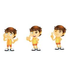 Summer Guy 2 vector image vector image
