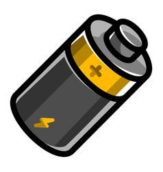 Battery energy icon vector