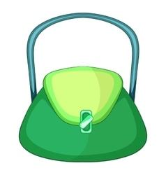 Beautiful bag icon cartoon style vector