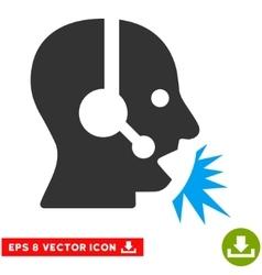 Operator Speech Eps Icon vector