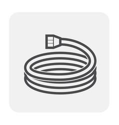 Pressure rubber icon vector