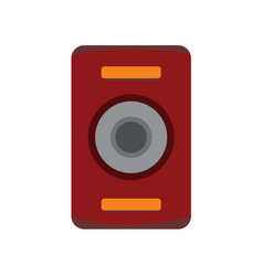 simple audio speaker studio graphic vector image