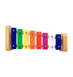 xylophone a children vector image