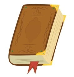 Leather Magic Book vector image vector image