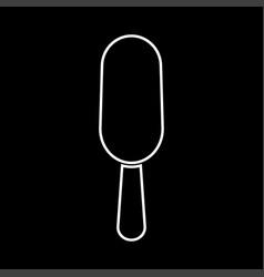 ice cream it is icon vector image