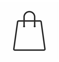 bag shop icon retail symbol vector image