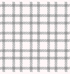 black and white cage seamless pattern vector image