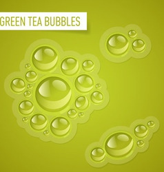 Bubbles for drink vector