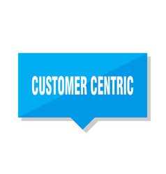 Customer centric price tag vector