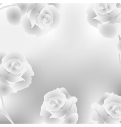 Elegant background with roses vector