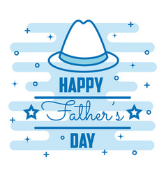 Happy father day design vector