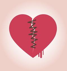 Heart Broken Icon vector
