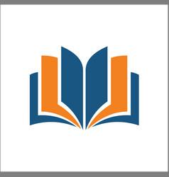 open book icon simple open book icon vector image