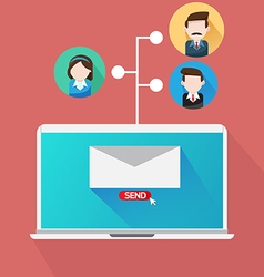 Your Email Marketing Team vector