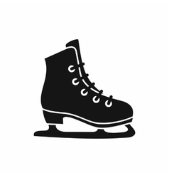 Skates icon simple style vector image vector image