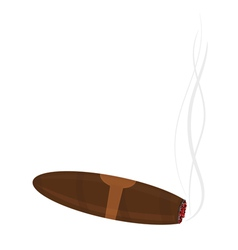 cigar vector image
