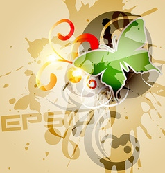 grunge style background vector image