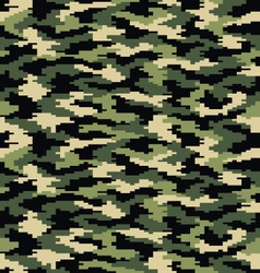 Digital camouflage seamless vector image