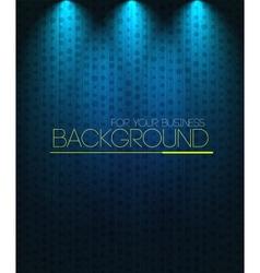 Spotlight background blue vector image