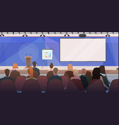 businesspeople at business meeting modern vector image