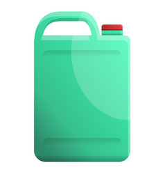 Cleaner canister icon cartoon style vector