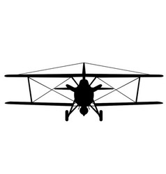Curtiss sbc-4 cleveland front vector