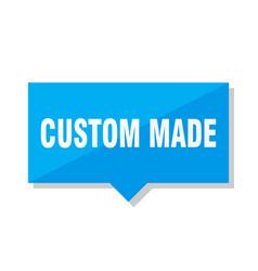 custom made price tag vector image
