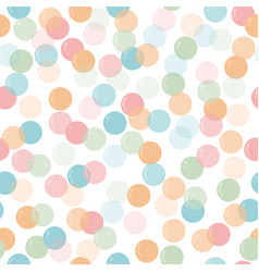 cute seamless pattern with soap bubbles for kids vector image