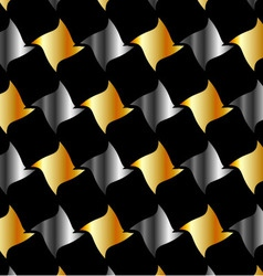 Metallic tile background vector