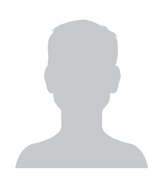Person gray photo placeholder little boy vector