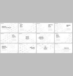 presentation design templates multipurpose vector image