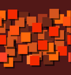 seamless background made up of squares the planes vector image