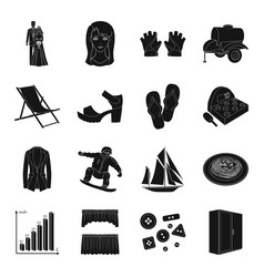 Sports medicine atelier and other web icon vector