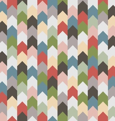 Abstract retro geometric seamless pattern with vector image vector image
