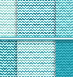 chevron seamless patterns set - background texture vector image