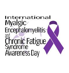 International myalgic encephalomyelitis vector