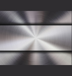 Metal textured technology background vector