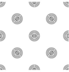 sport stadium pattern seamless vector image