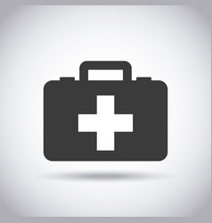 first aid design vector image vector image