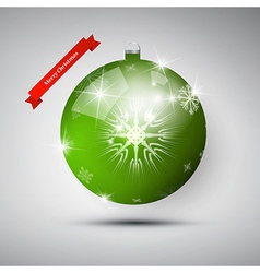 Abstract Merry Christmas theme vector image vector image