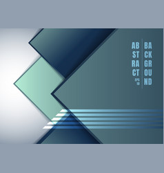 abstract blue geometric square overlapping on vector image