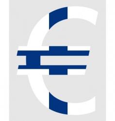 Finnish euro vector image