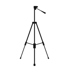 New tripod simple icon vector