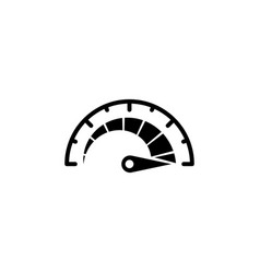 Speedometer speed isolated vector