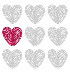 ard Happy Valentine s Day vector image vector image