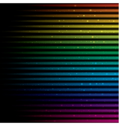 Abstract horizontal colorful rainbow vector image vector image