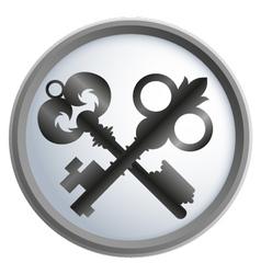 keys vector image